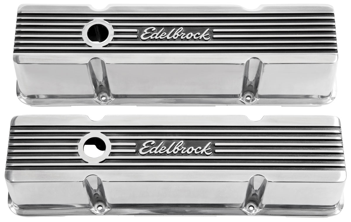 Valve Covers, Elite II, 1964-88 Chevrolet, Small-Block, Tall