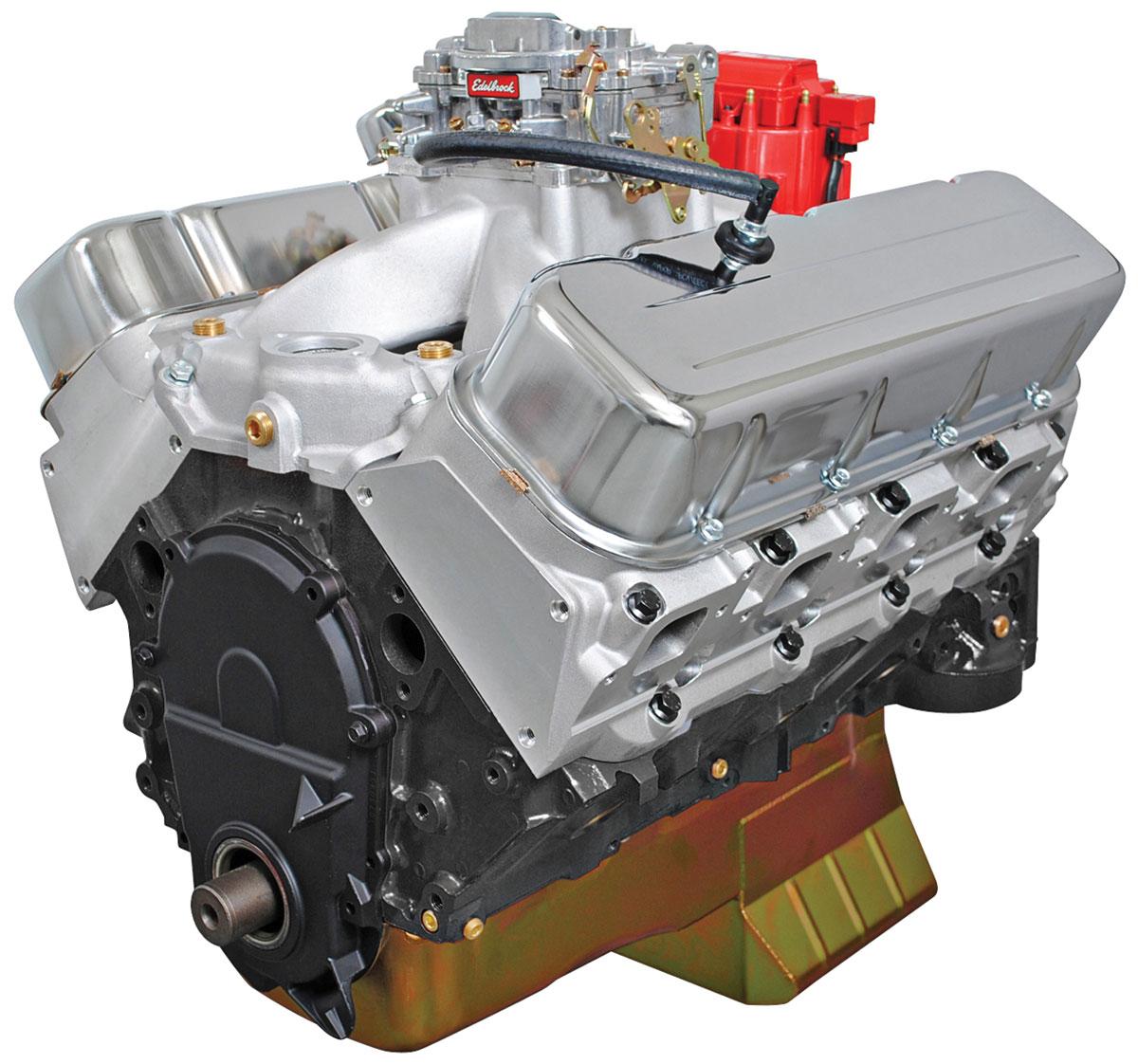Crate Engine, BluePrint, 496 Stroker, Base Dressed