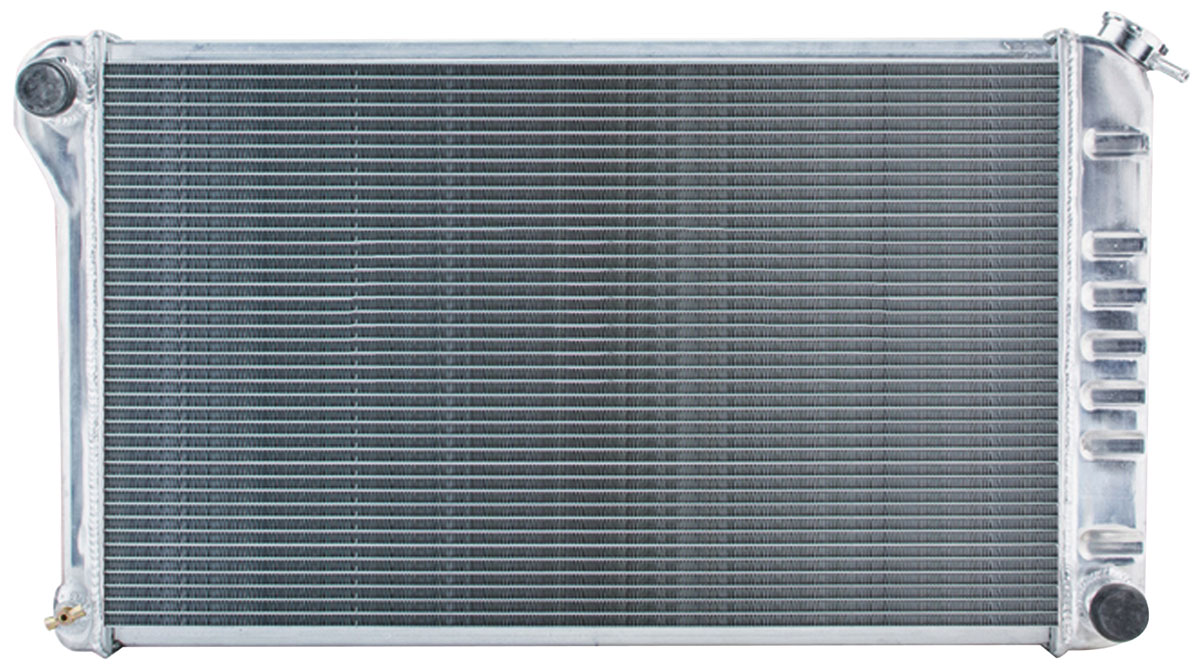 Radiator, Aluminum, Cold-Case, 1968-77 A-Body, MT