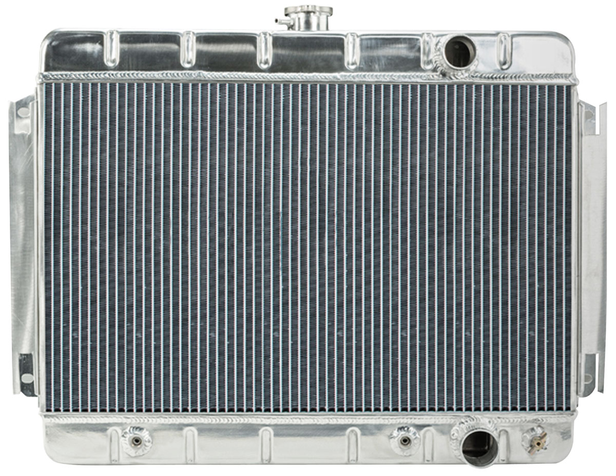 Radiator, Aluminum, Cold-Case, 1964-65 CH/EC, Non-A/C, AT