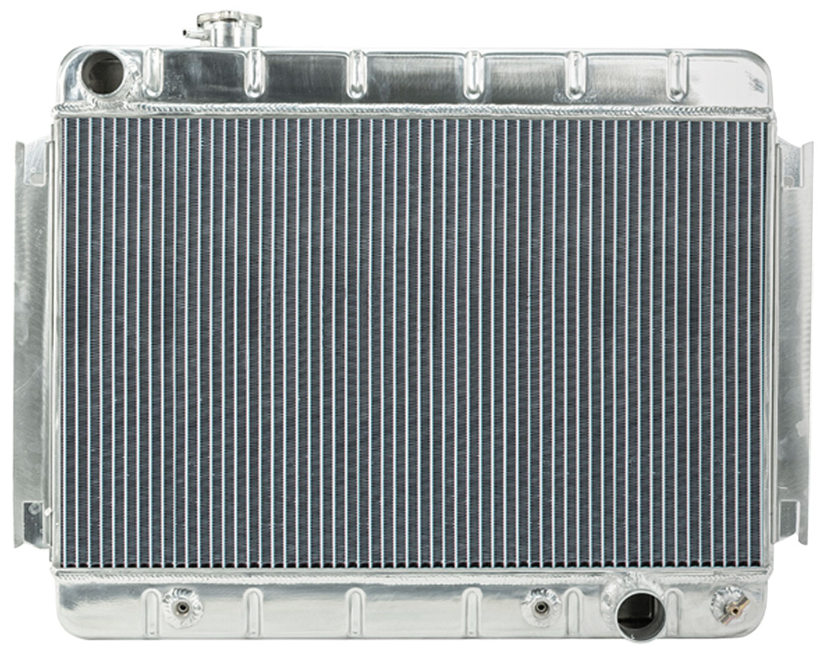 Radiator, Aluminum, Cold-Case, 1966-67 CH/EC, Non-A/C, AT