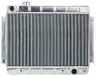Radiator, Aluminum, Cold-Case, 1966-67 CH/EC, Non-A/C, AT