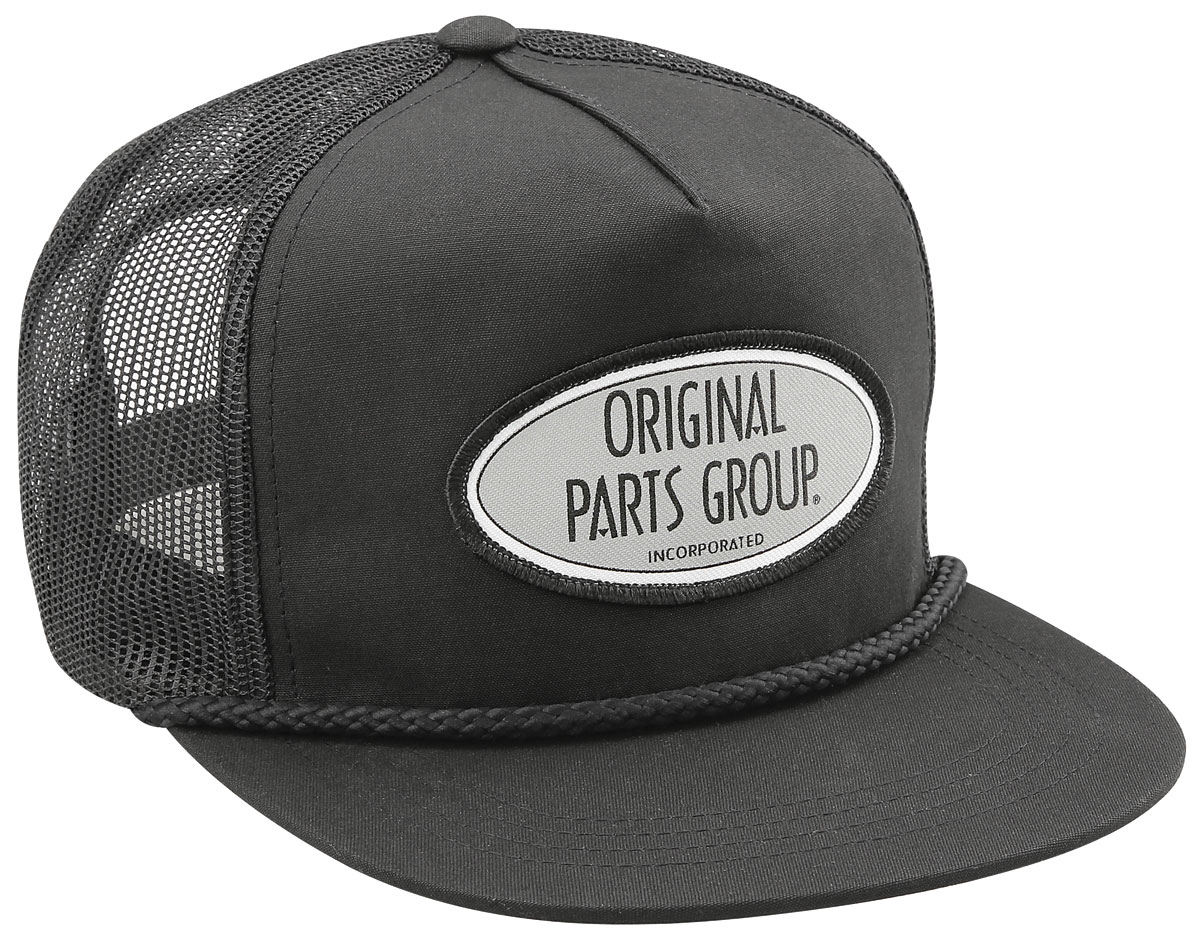Hat, OPGI Logo, Mesh, Snapback