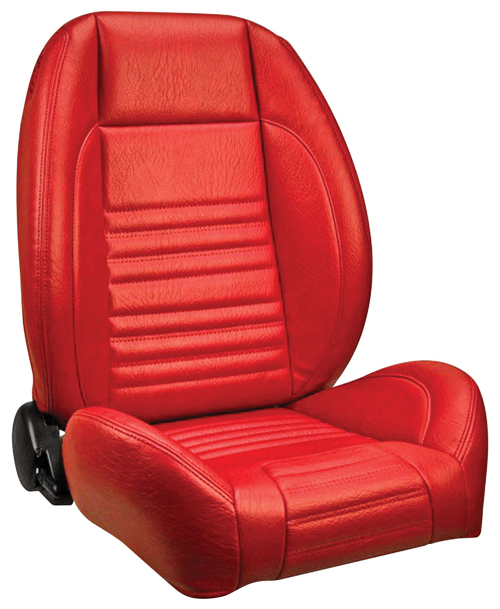 Seat, TMI Assembled Sport Buckets, 1966 Chevelle/El Camino, Pair