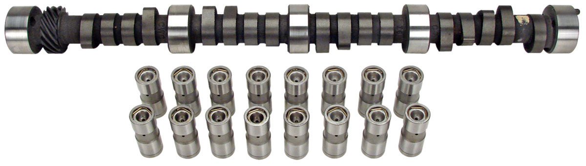 Camshaft, Nostalgia Plus, Comp Cams, 300HP CL-Kit, SBC, Hyd Flat