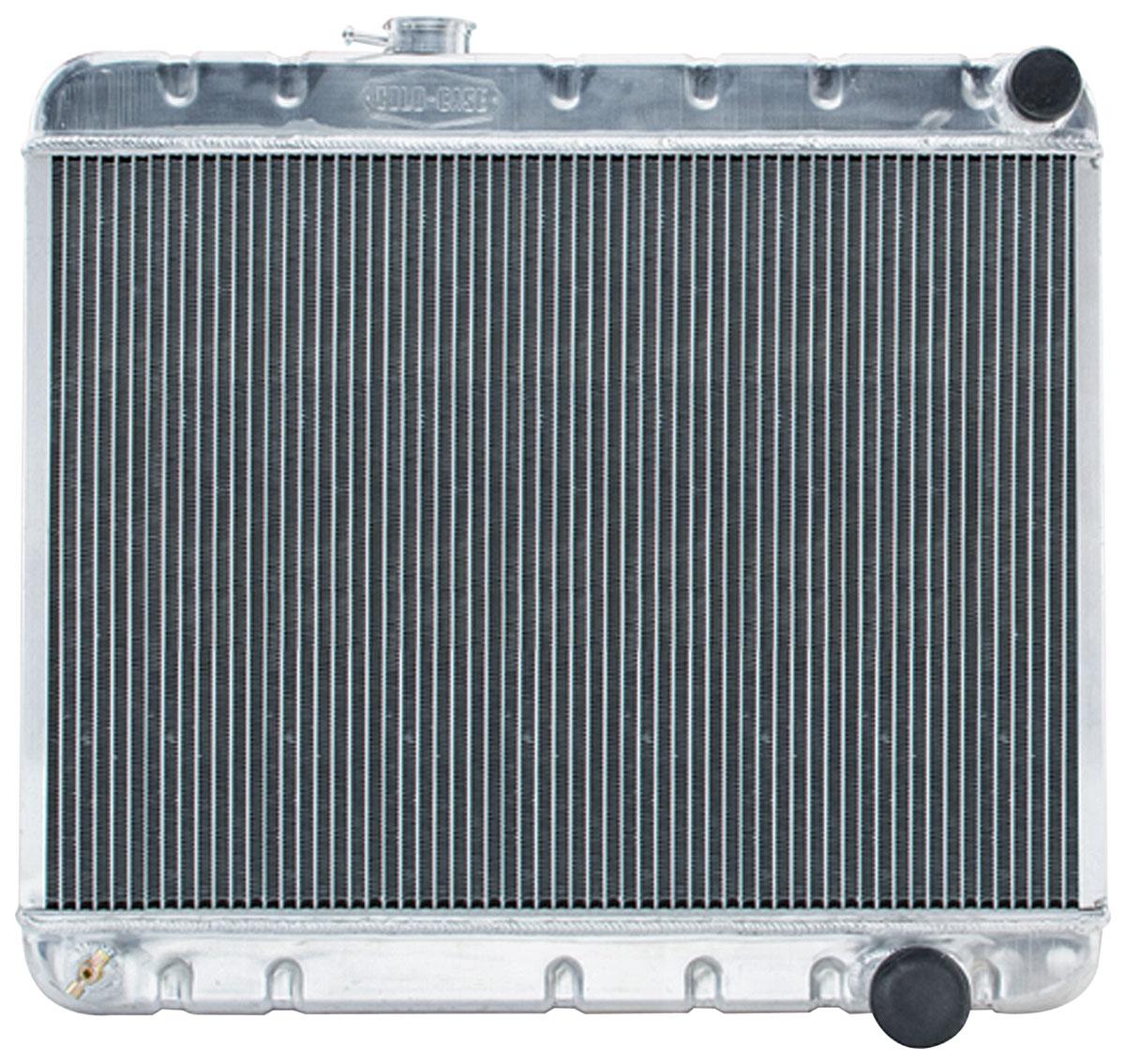 Radiator, Aluminum, Cold-Case, 1965 GTO, Non-A/C, MT