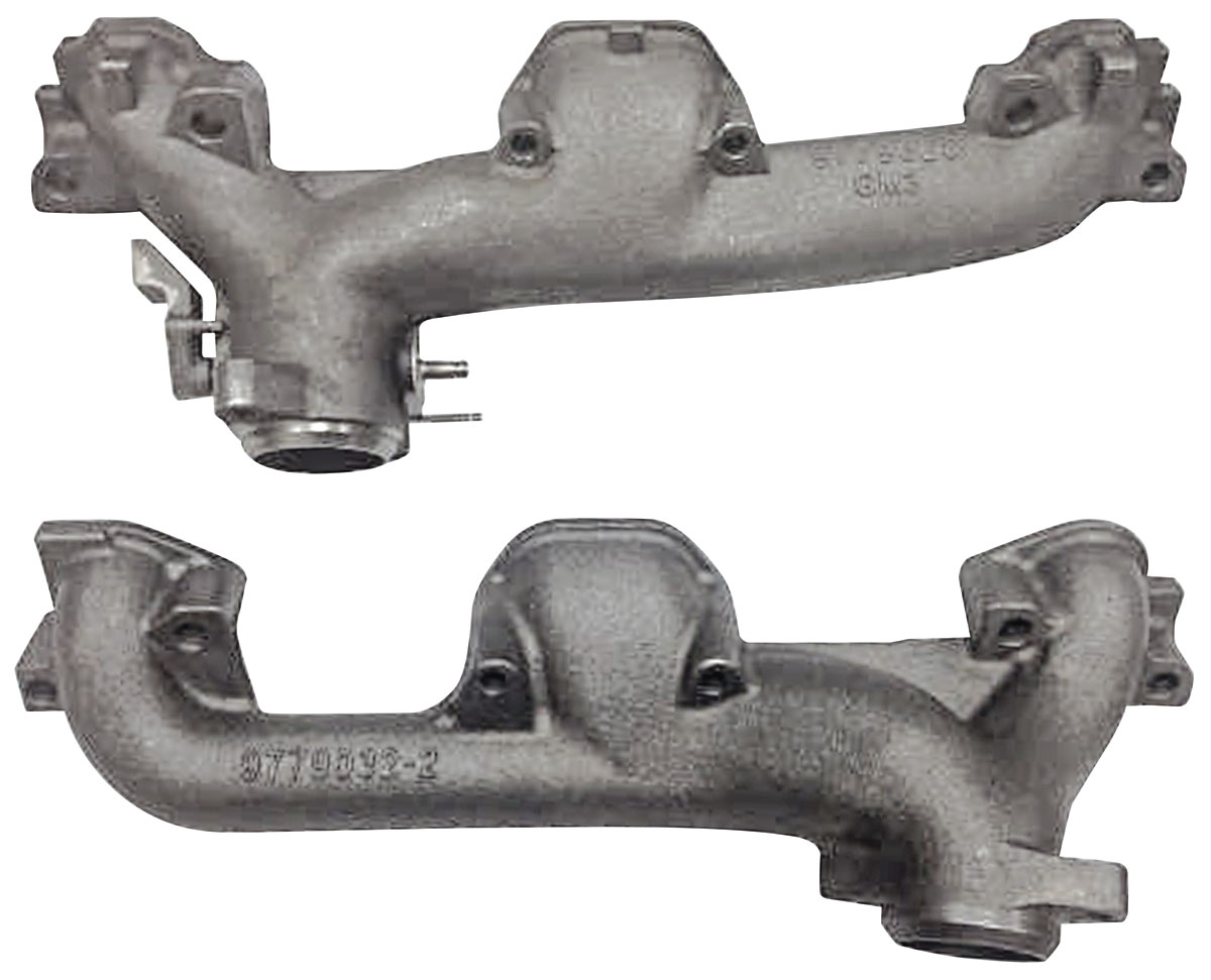 Exhaust Manifolds, Standard HP, 1964-68 GTO/Tempest/LeMans