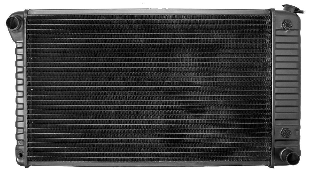 Radiator, 1974-76 G/B/C, V8, AT, 2-3/4
