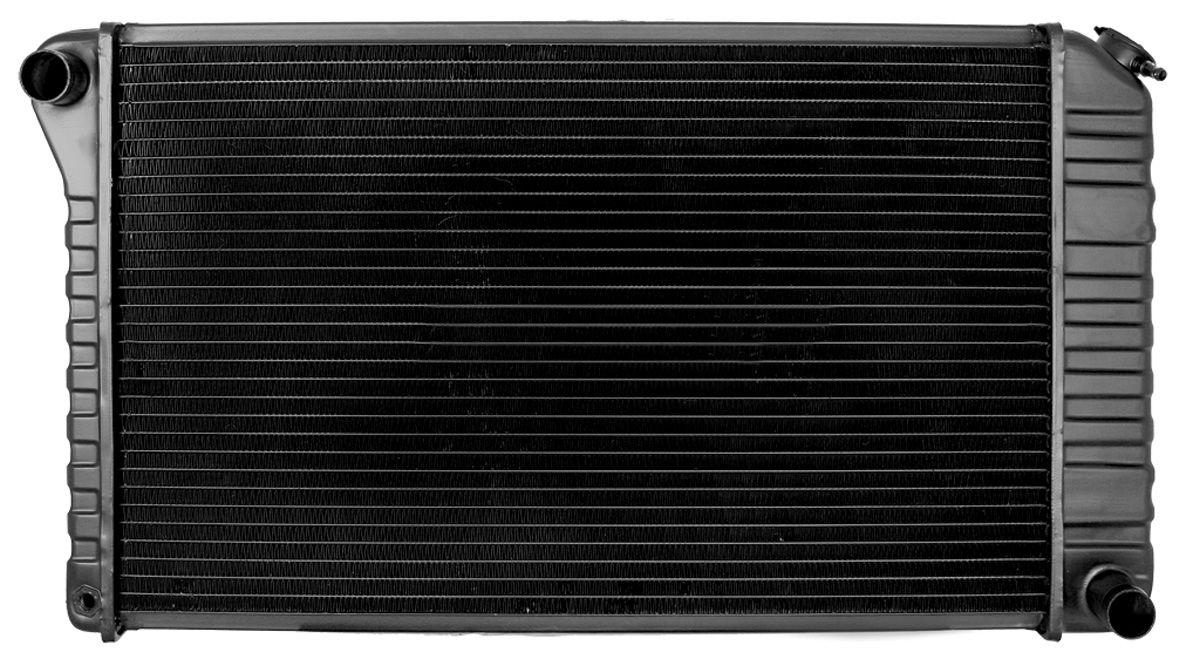 Radiator, 1972-76 G/B/C, Desert Cooler, V8, MT, 3-1/2