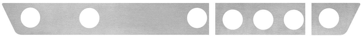 Dash Insert, Aluminum, 1963-64 Grand Prix/Bonneville & 1964 2+2, Floor Shift