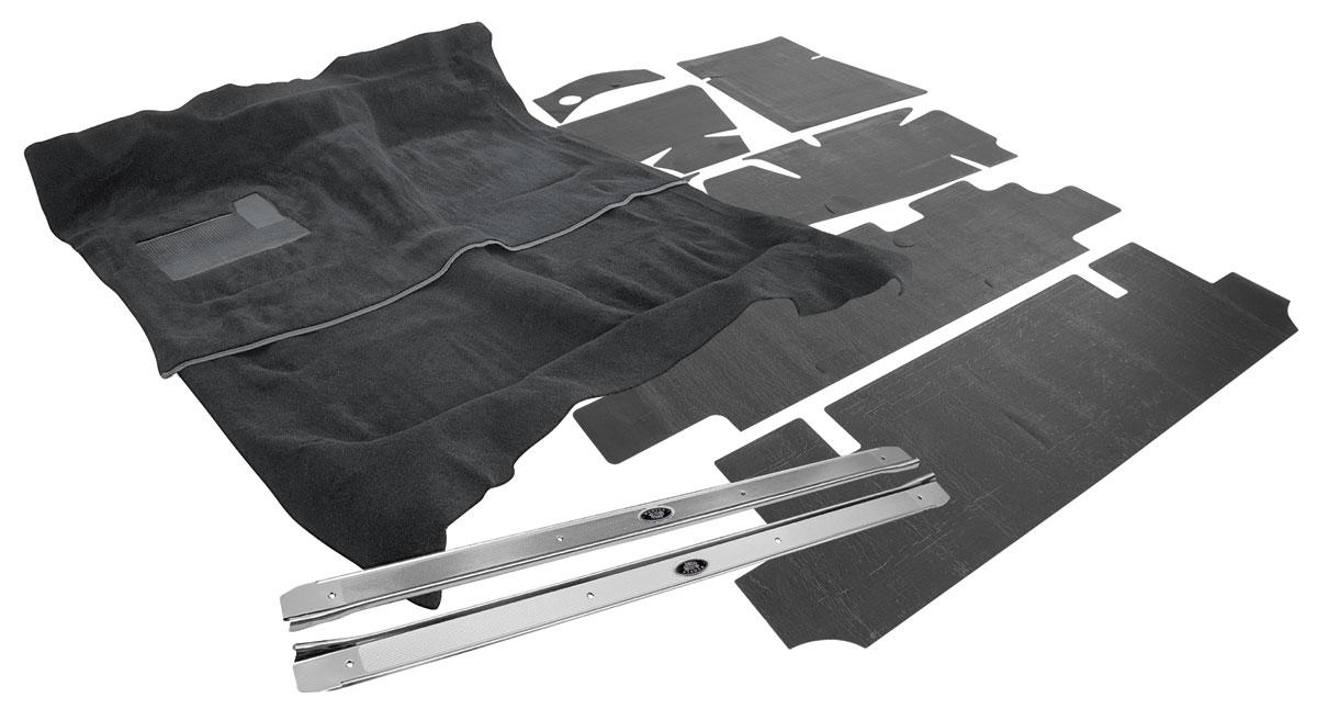 Carpet Kit, 1977 Monte Carlo, Auto, Cut-Pile, w/Sound Deadener/Sill Plates