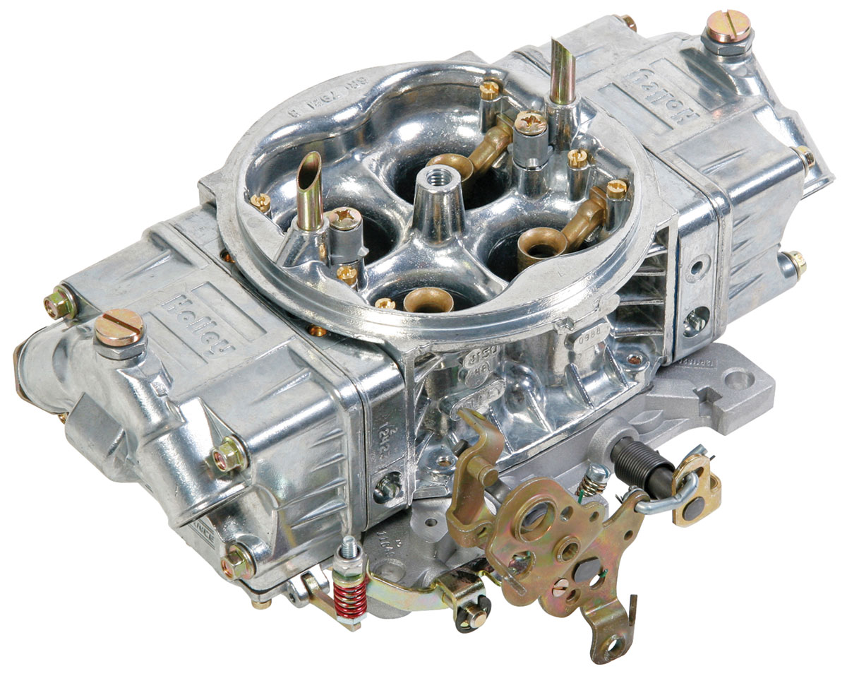 Carburetor, Holley, Street HP, 750 CFM, Shiny Finish, Mechanical Secondary