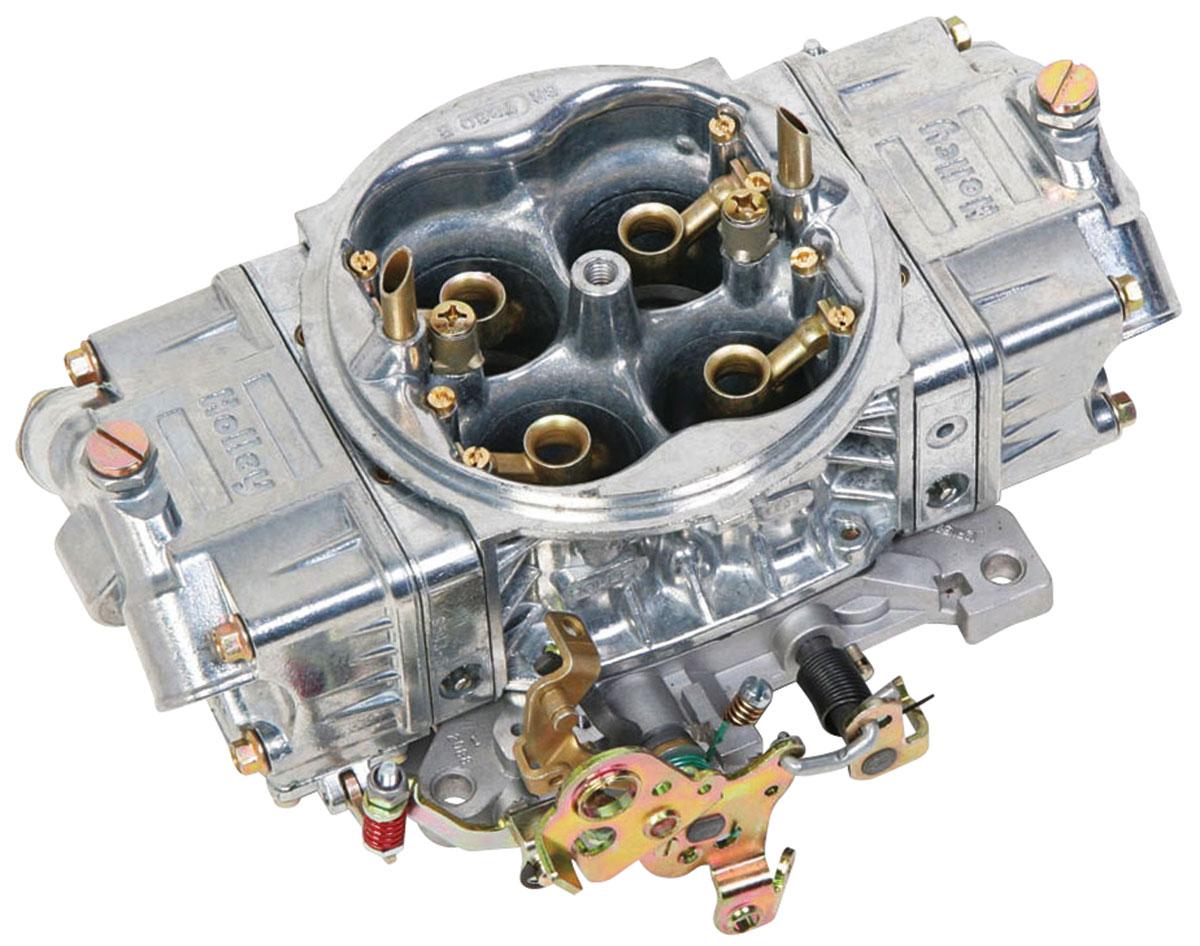 Carburetor, Holley, Street HP, 850 CFM, Shiny Finish, Mechanical Secondary