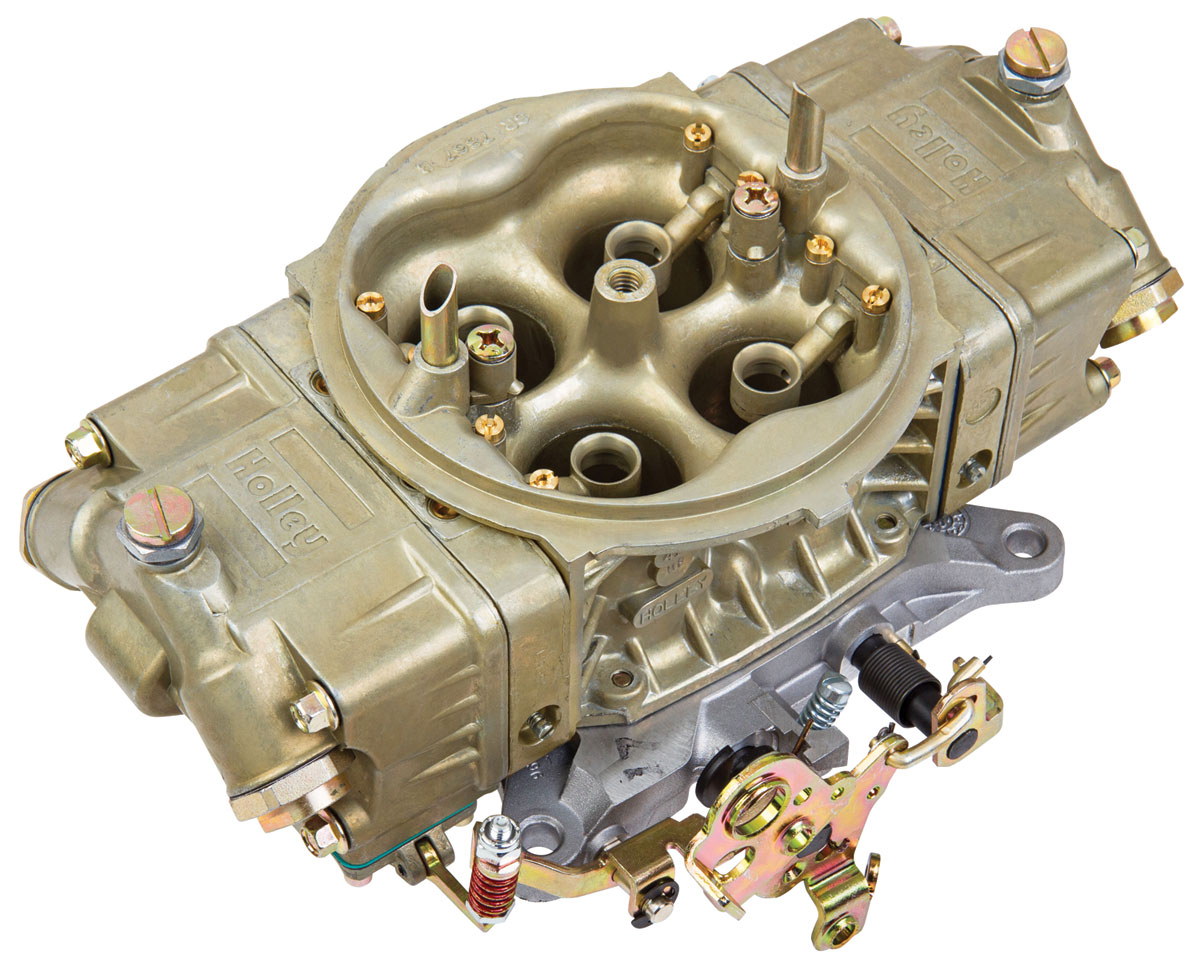 Carburetor, Holley, Street HP, 1000 CFM, Classic Finish, Mechanical Secondary