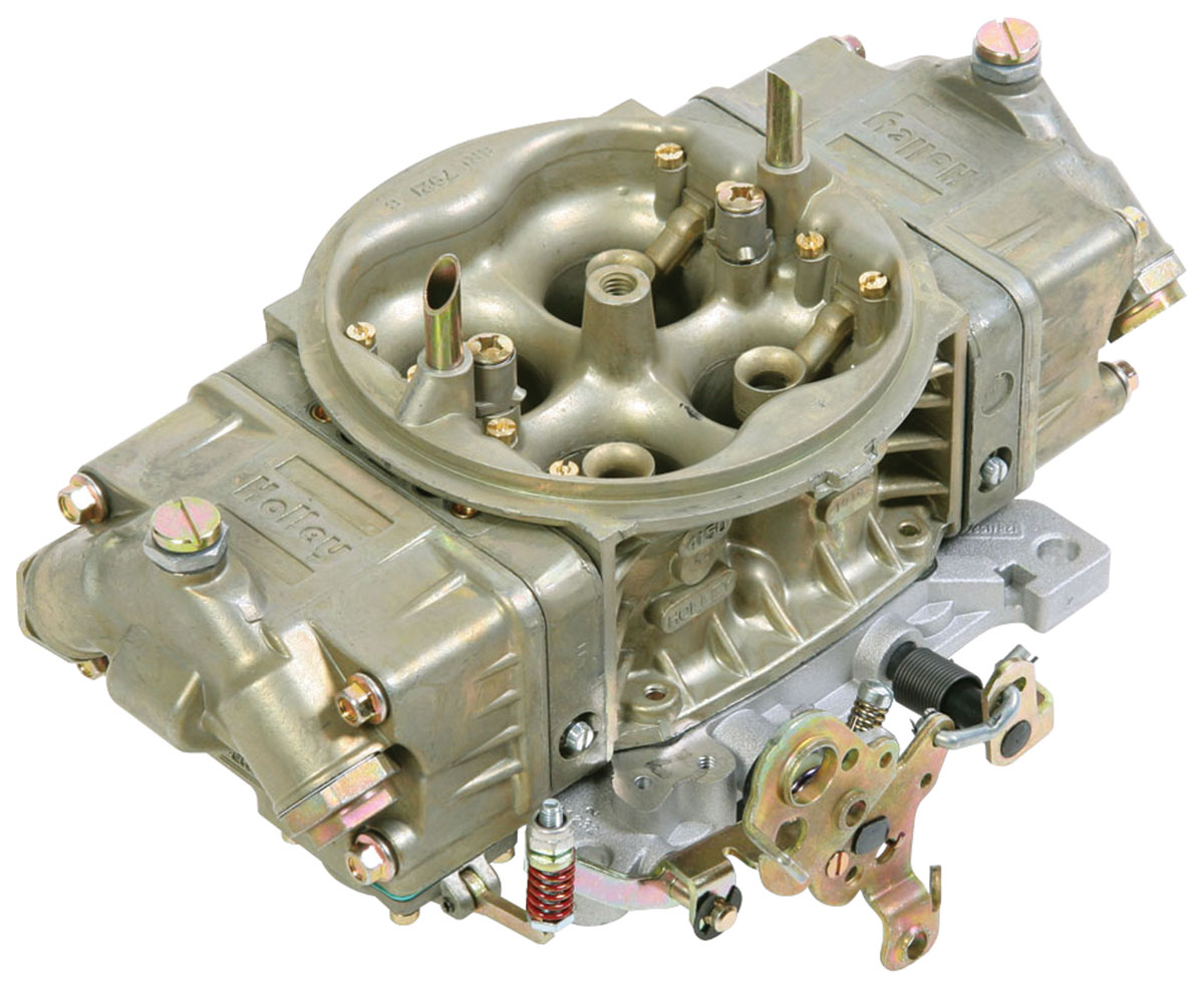 Carburetor, Holley, Street HP, 750 CFM, Classic Finish, Mechanical Secondary