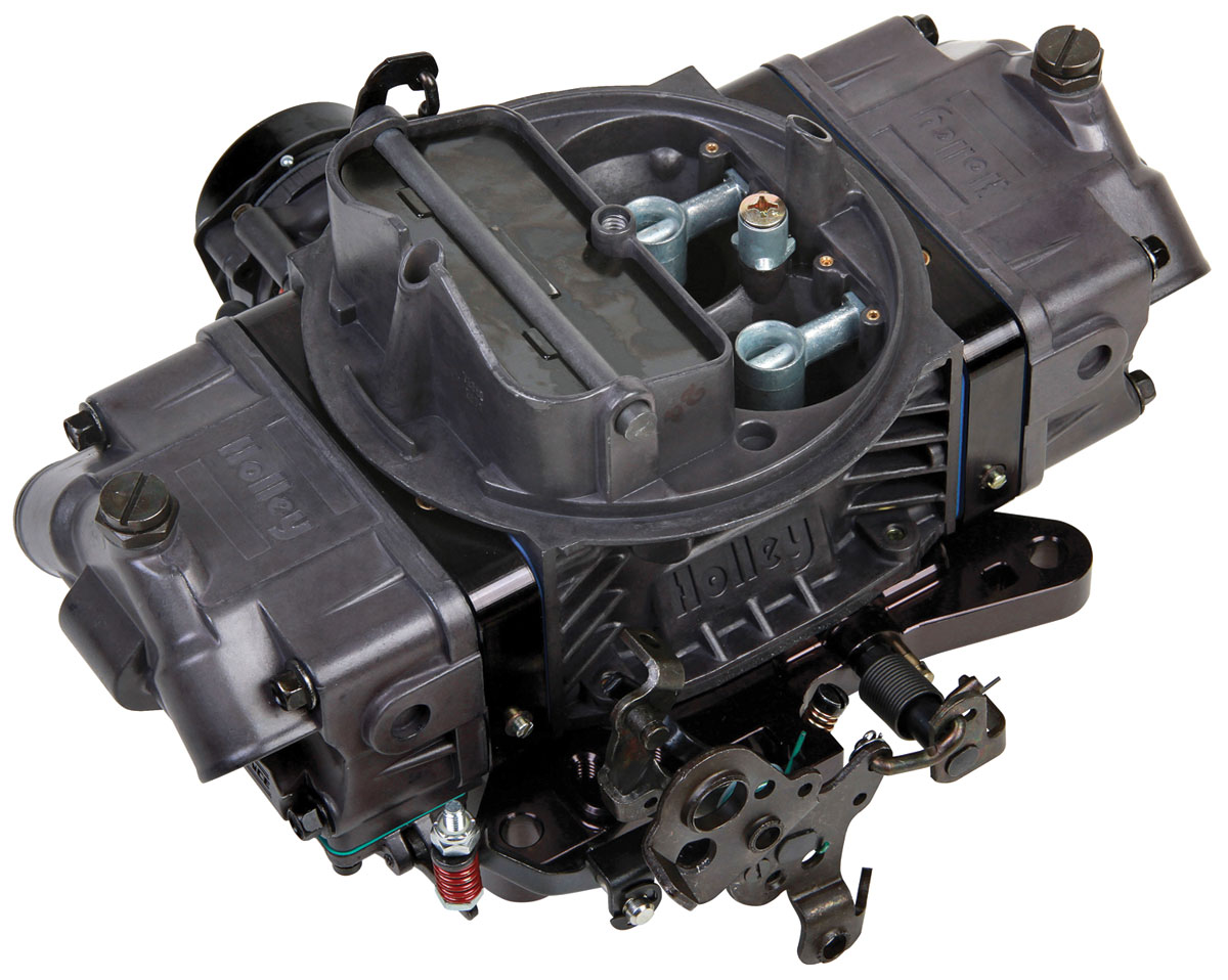 Carburetor, Holley, 650 CFM Ultra Double Pumper, Hard Core Gray Finish
