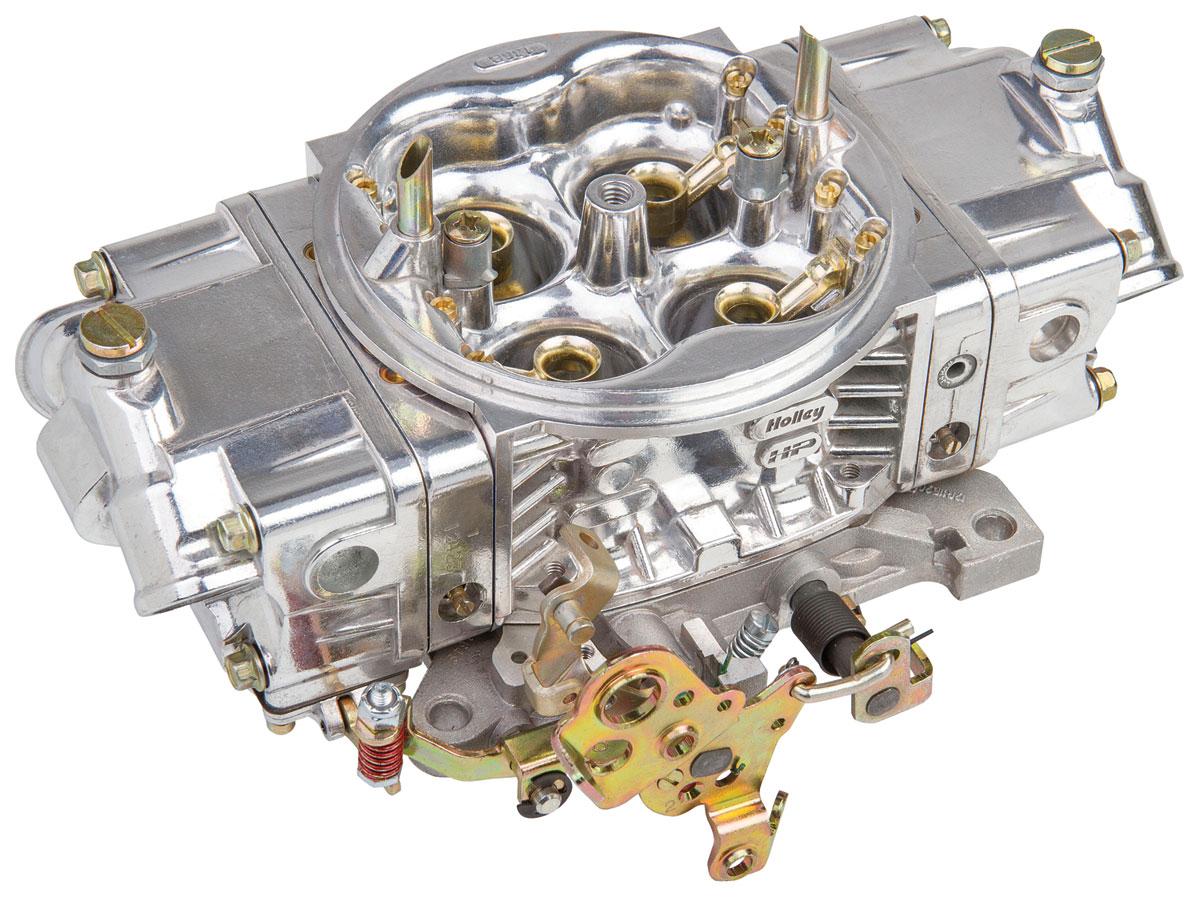 Carburetor, Holley, Street HP, 650 CFM, Aluminum, Mechanical Secondary