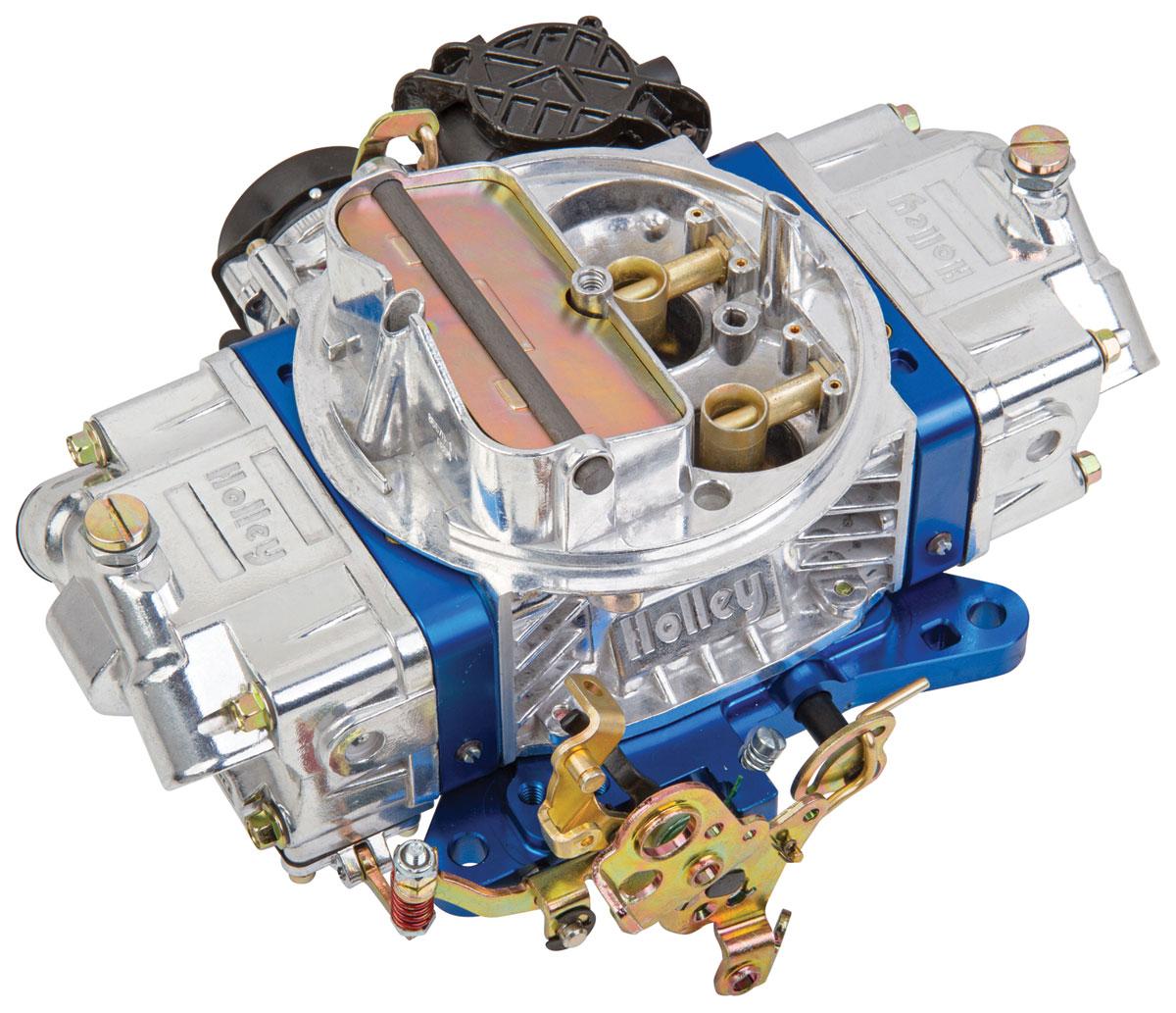 Carburetor, Holley, 670 CFM Ultra Street Avenger, Blue Metering Blocks