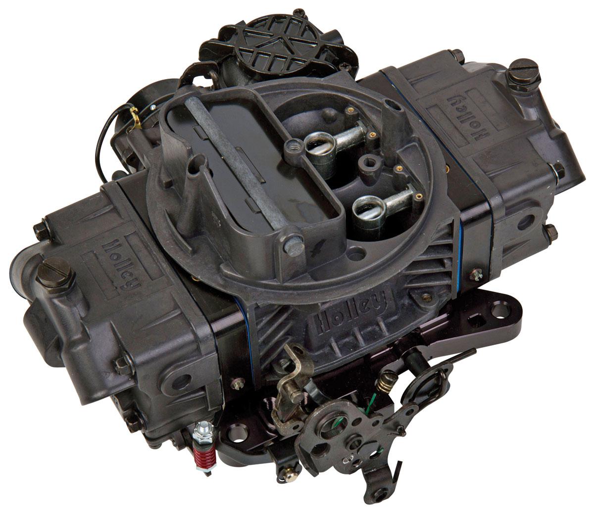 Carburetor, Holley, 670 CFM Ultra Street Avenger, Black Billet Aluminum Finish