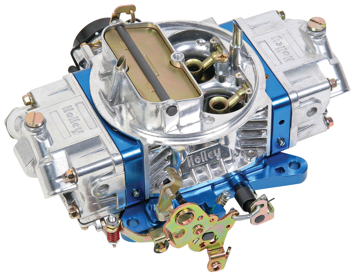Carburetor, Holley, 750 CFM Ultra Double Pumper, Blue Metering Blocks