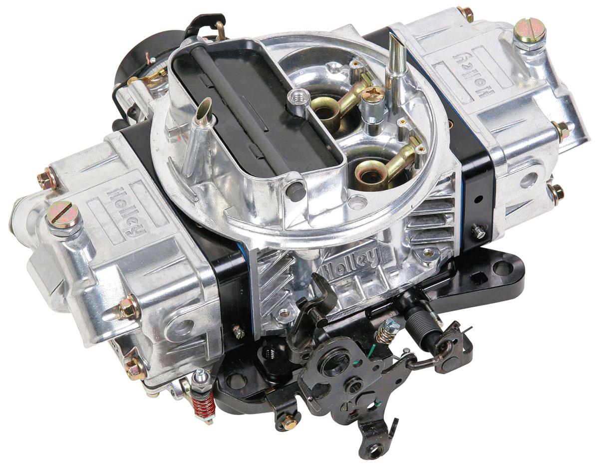 Carburetor, Holley, 750 CFM Ultra Double Pumper, Black Metering Blocks