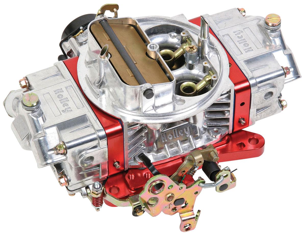 Carburetor, Holley, 750 CFM Ultra Double Pumper, Red Metering Blocks