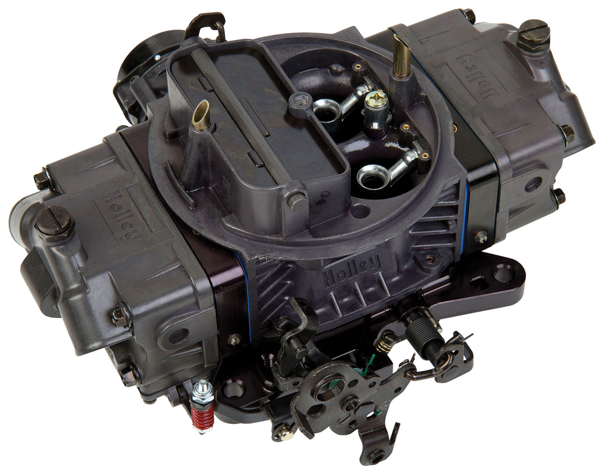 Carburetor, Holley, 850 CFM Ultra Double Pumper, Hard Core Gray Finish
