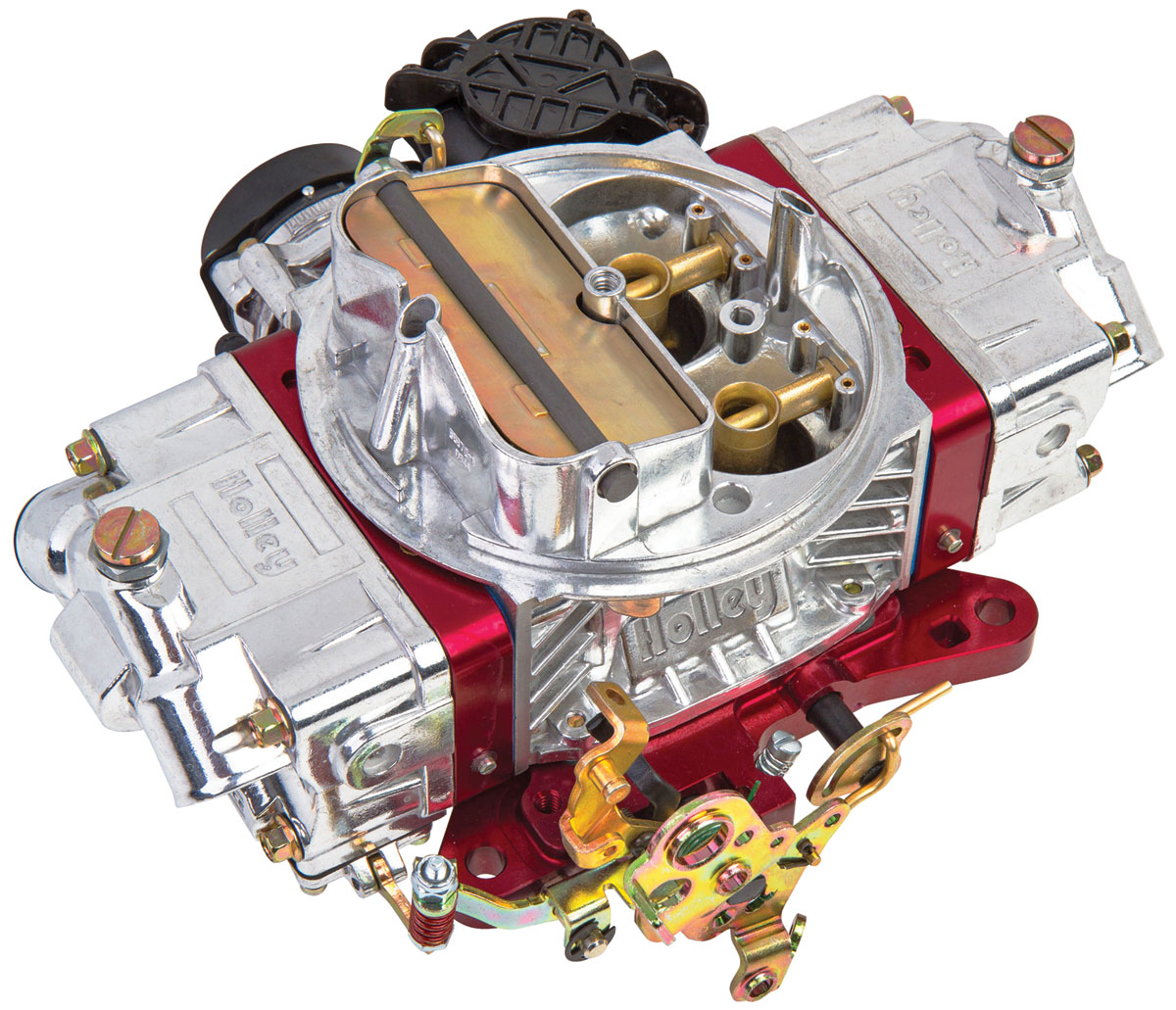 Carburetor, Holley, 870 CFM Ultra Street Avenger, Red Metering Blocks