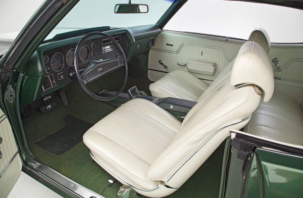 Interior Kit, 1964 Chevelle Stage IV, Buckets, Convertible