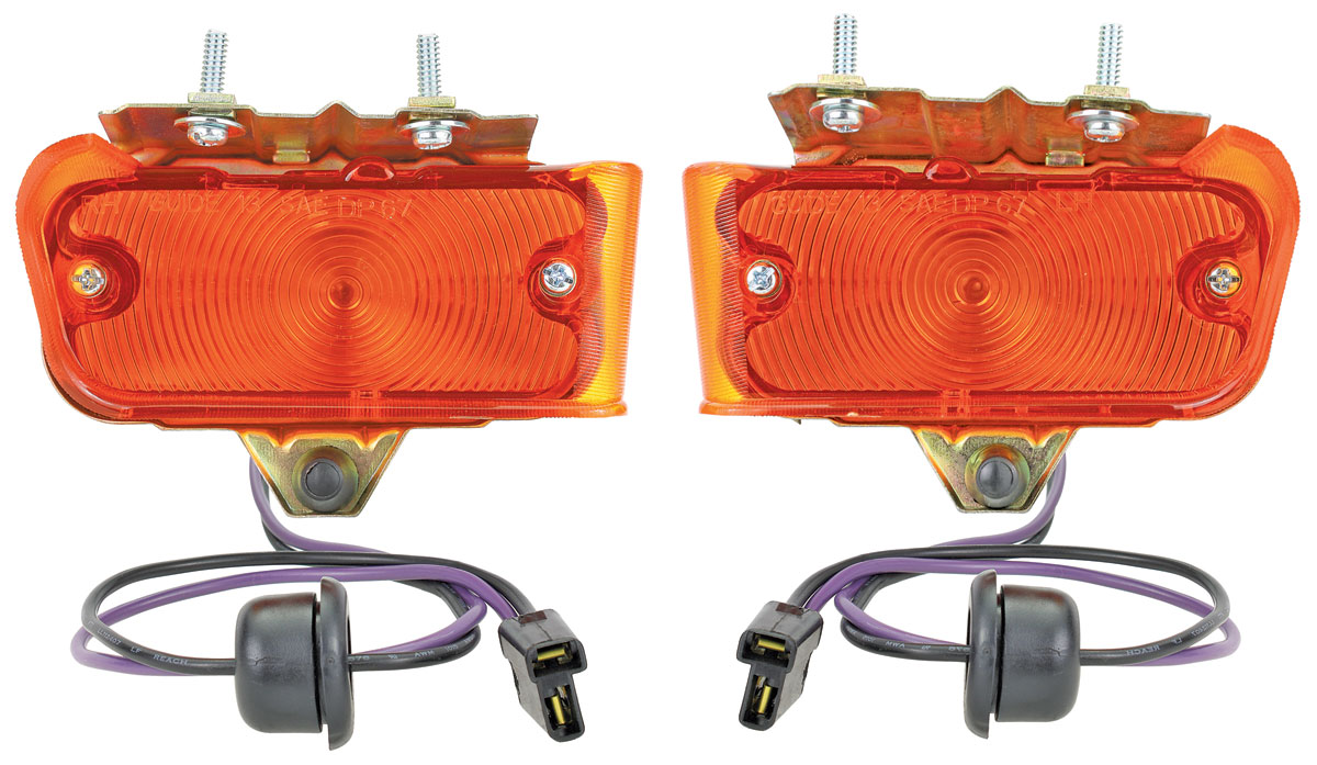 Assembly, Park Lamp, 1967 Chevelle/El Camino, Pair