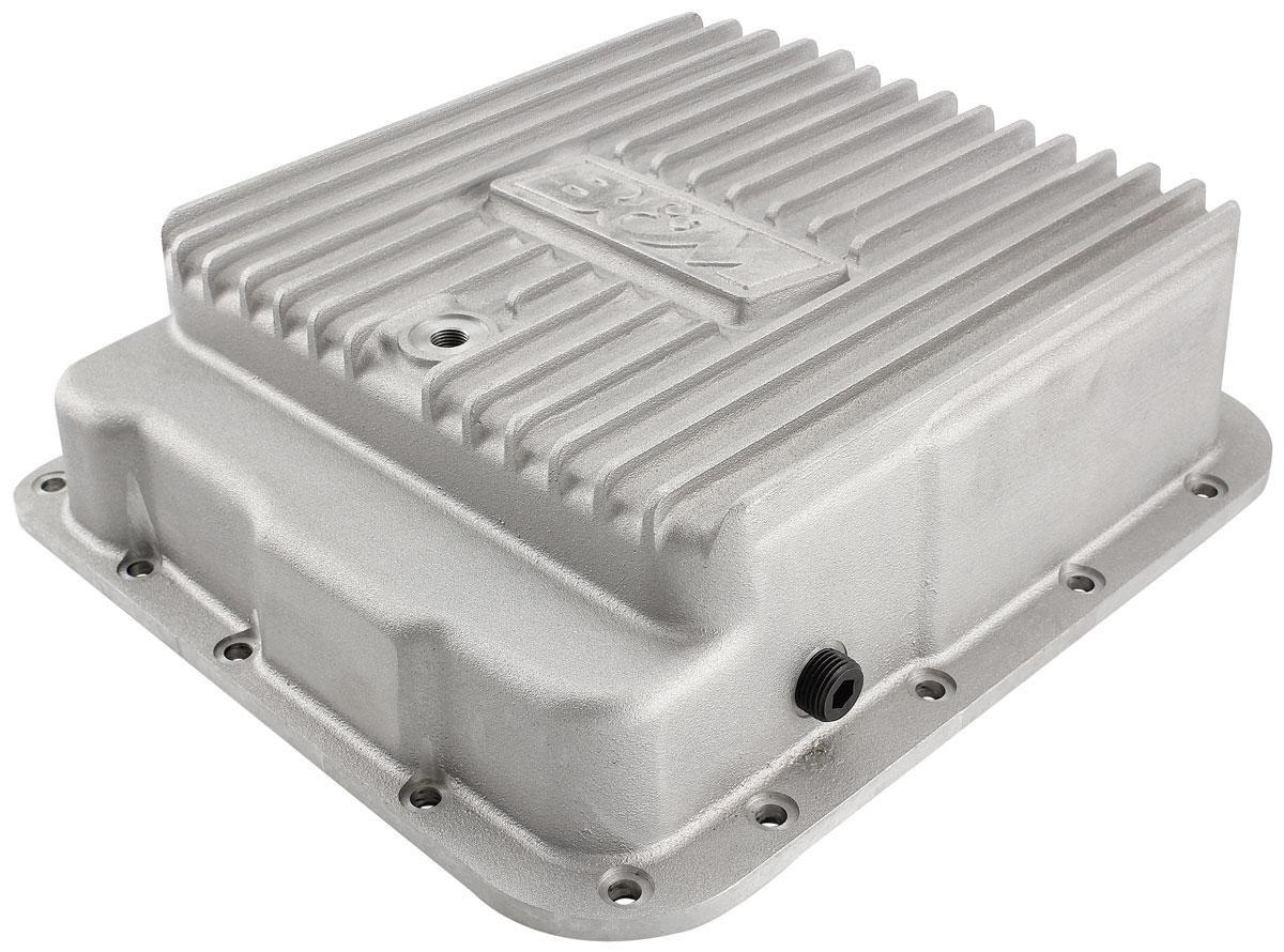 Transmission Pan, Aluminum, B&M, 4L60E