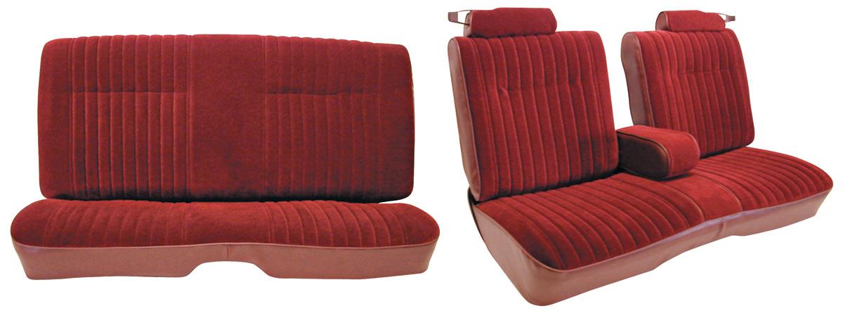 Wondrous Seat Upholstery Kit 1982 Malibu 1982 88 Mc Front Split Bench Rear Vinyl Inzonedesignstudio Interior Chair Design Inzonedesignstudiocom