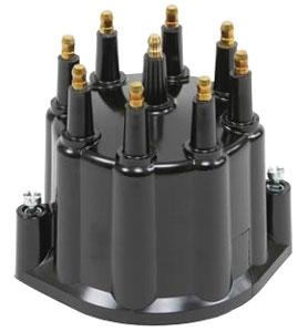 Cap, Distributor, Pertronix, Black, HEI, Male