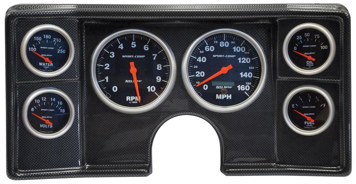 Gauge Conversion, Classic Dash, 82-88 G-Body, Sport Comp, Electric