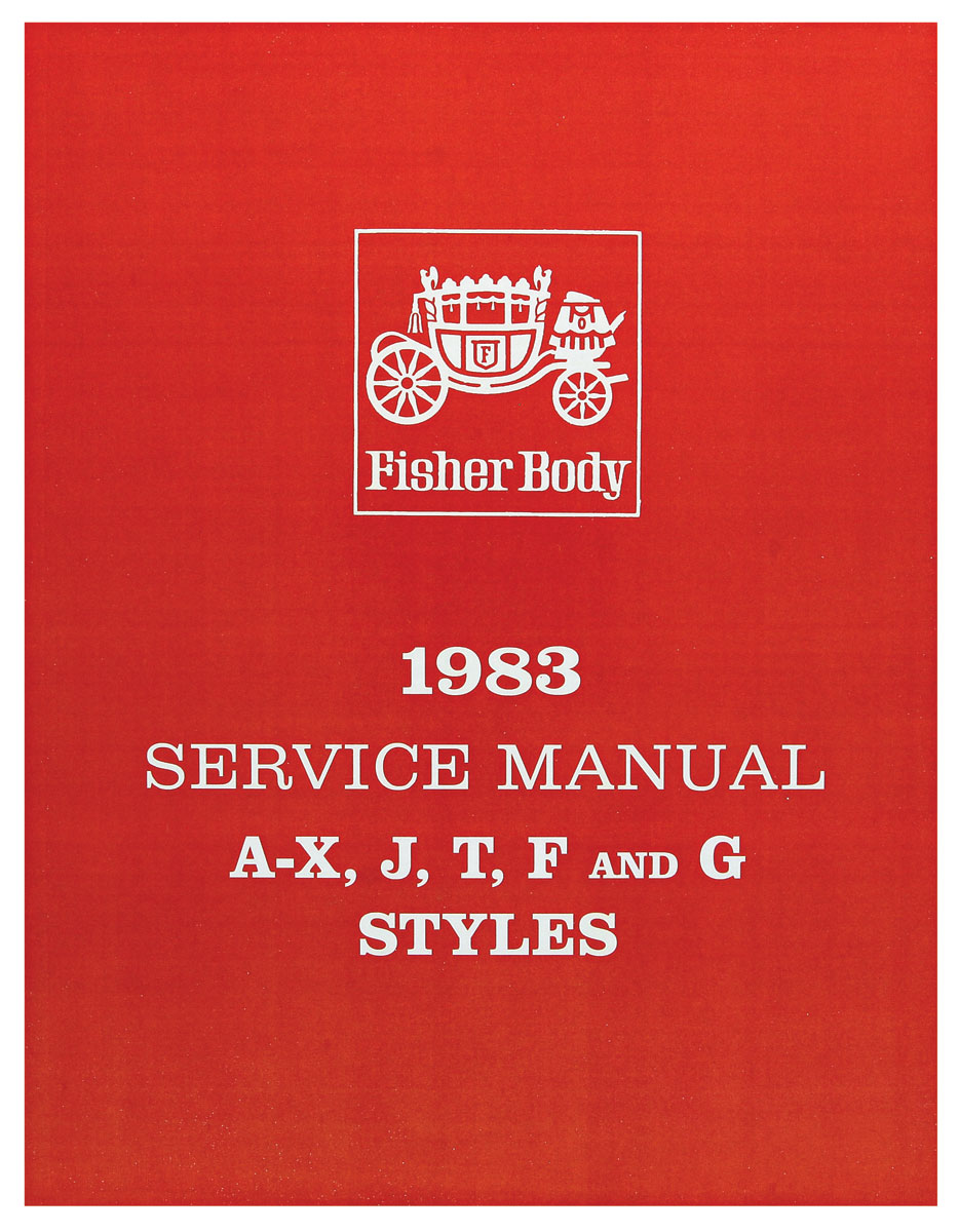 Fisher Body Manual, 1983 GM Cars, Part A