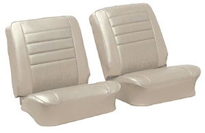 Seat Upholstery, 1965 Chevelle/El Camino, Front Buckets, Leatherette