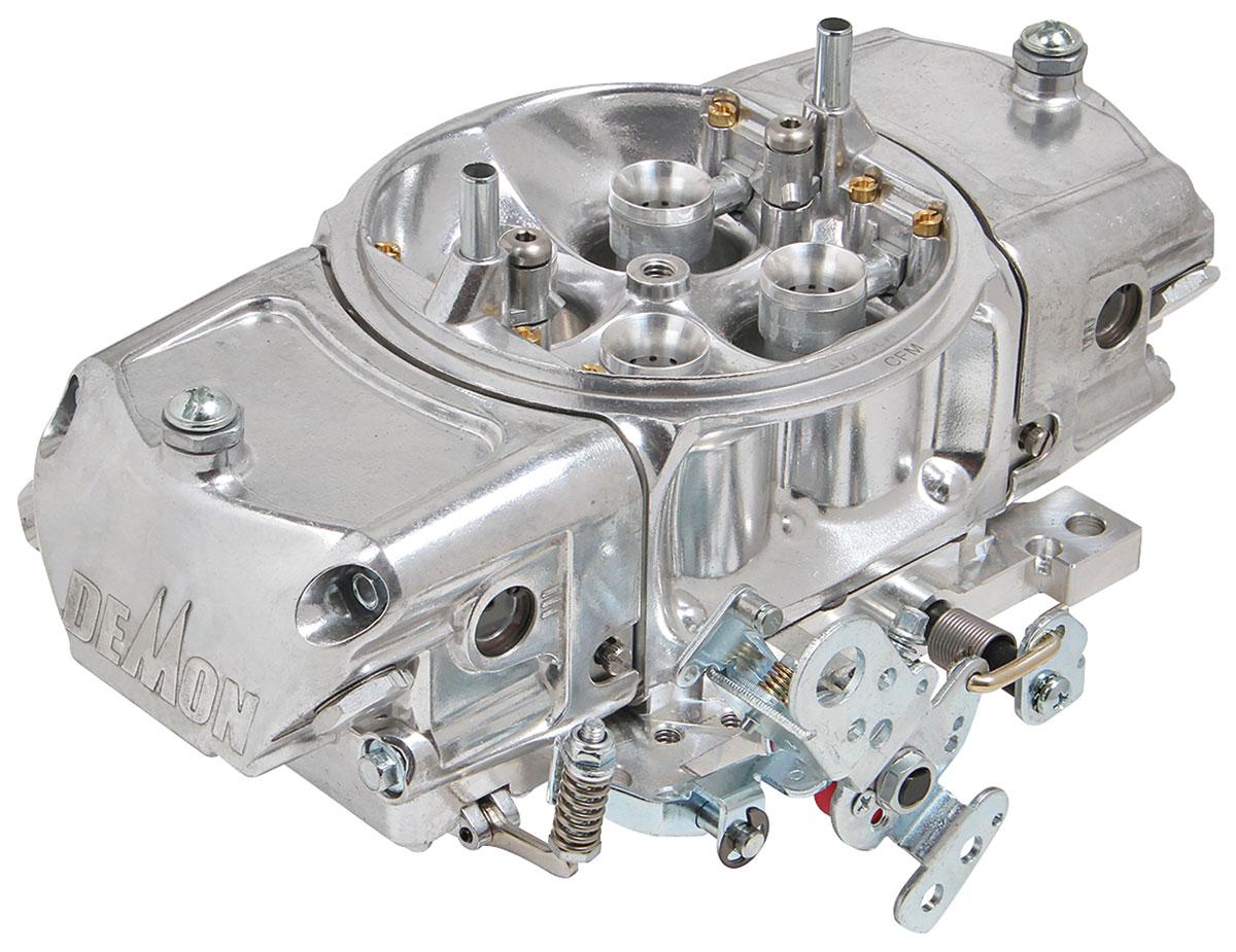 Carburetor, Demon, Mighty Demon, 650 CFM, Mechanical Secondary, Down Leg Bstrs