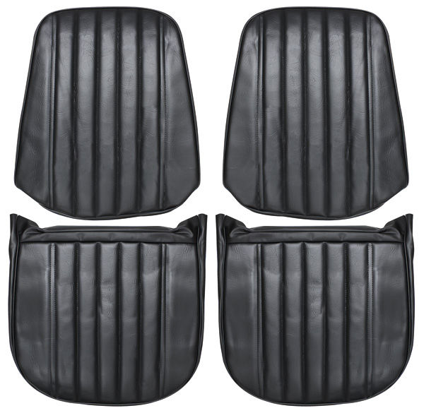 Seat Upholstery, 1971-72 Monte Carlo, Front Buckets