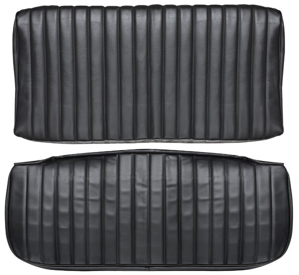 Seat Upholstery, 1971-72 Monte Carlo, Rear