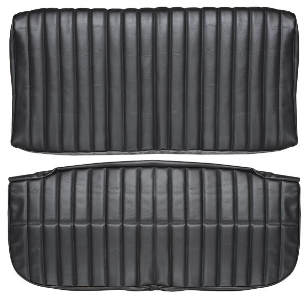Seat Upholstery, 1971-72 Monte Carlo, Rear w/Bolster