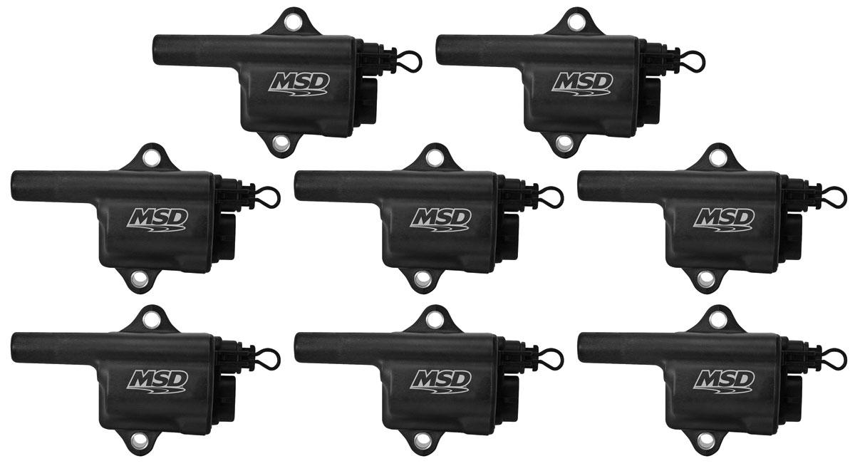 Coil, Pro Power, MSD, LS Truck Series, Set