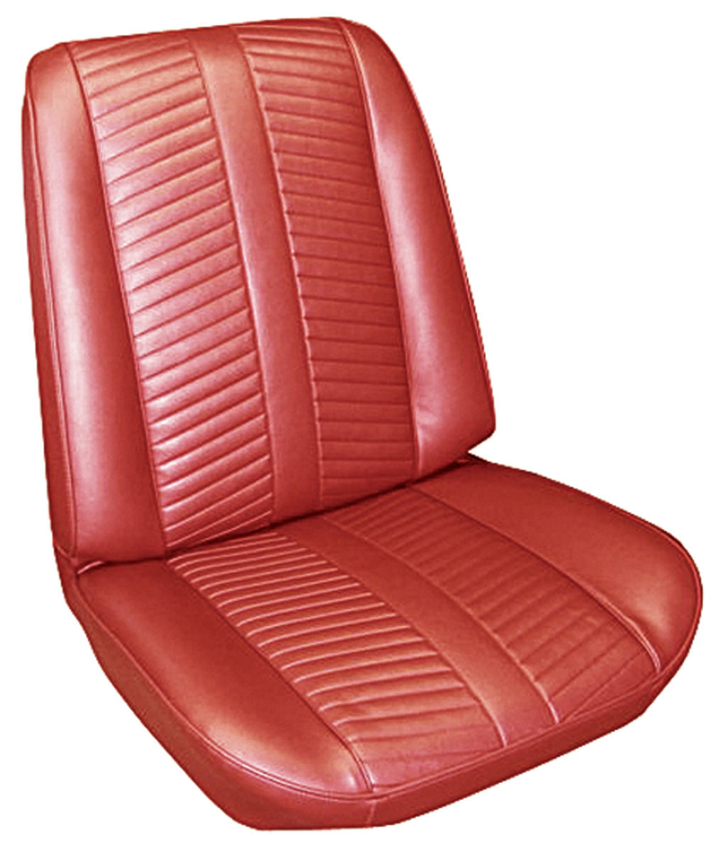 Seat Upholstery, 1966 Catalina 2+2, Coupe Rear