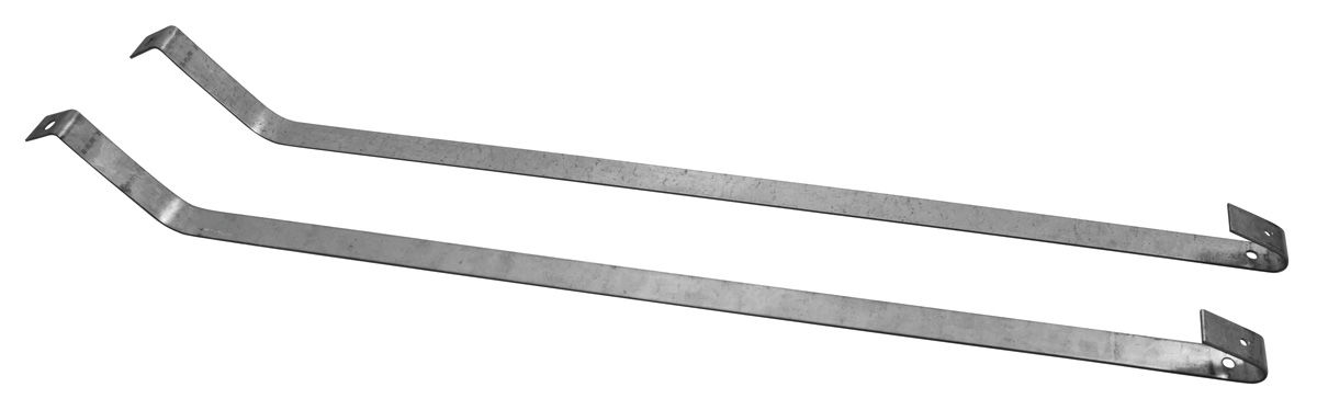 Mounting Straps, Fuel Tank, 1964-67 A-Body, Stainless, Pair