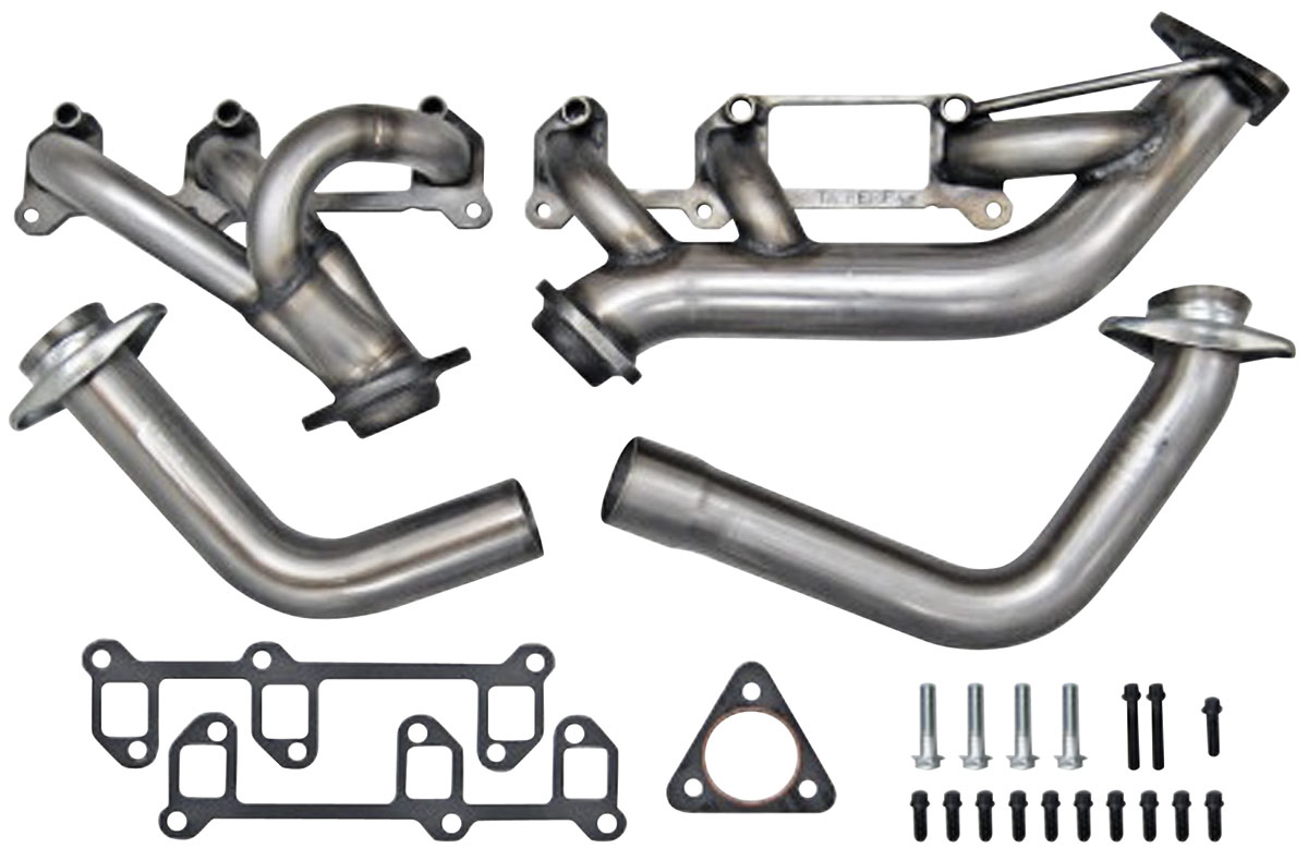 Headers, 4-Bolt, TA Performance, Buick 3.8L Turbo, Stainless Steel