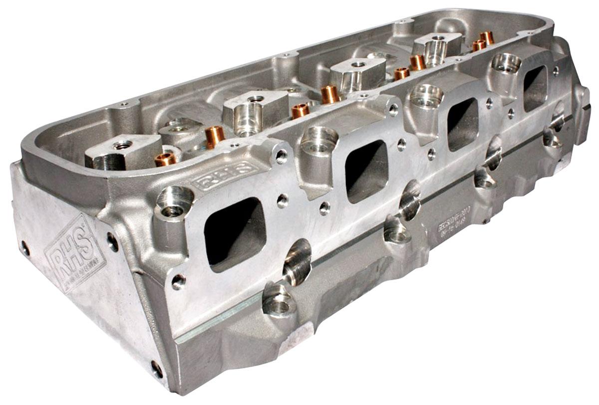 Cylinder Head, RHS, Pro Action, 320CC, BBC, Aluminum, Mech. Roller