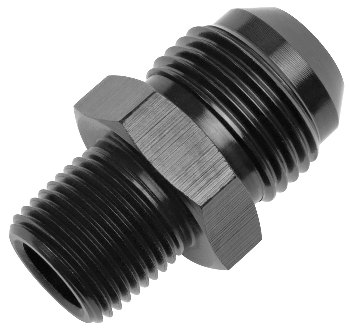 """Adapter, AN to NPT, Russell, -6AN to 1/4""""NPT, Straight"""