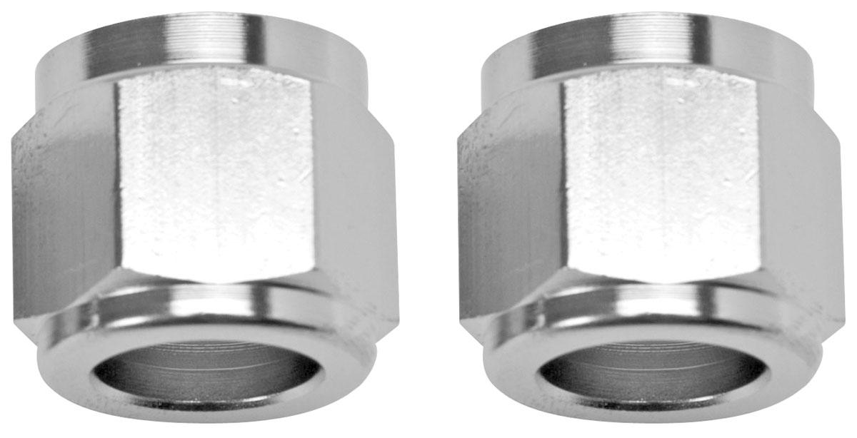 Tube Nut, Aluminum, Russell, 3/8