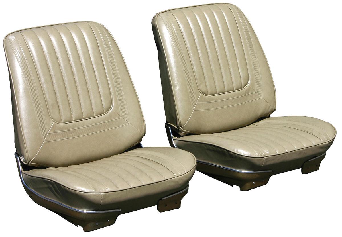 Bucket Seats, 1970 Skylark, Custom/GS, Assembled