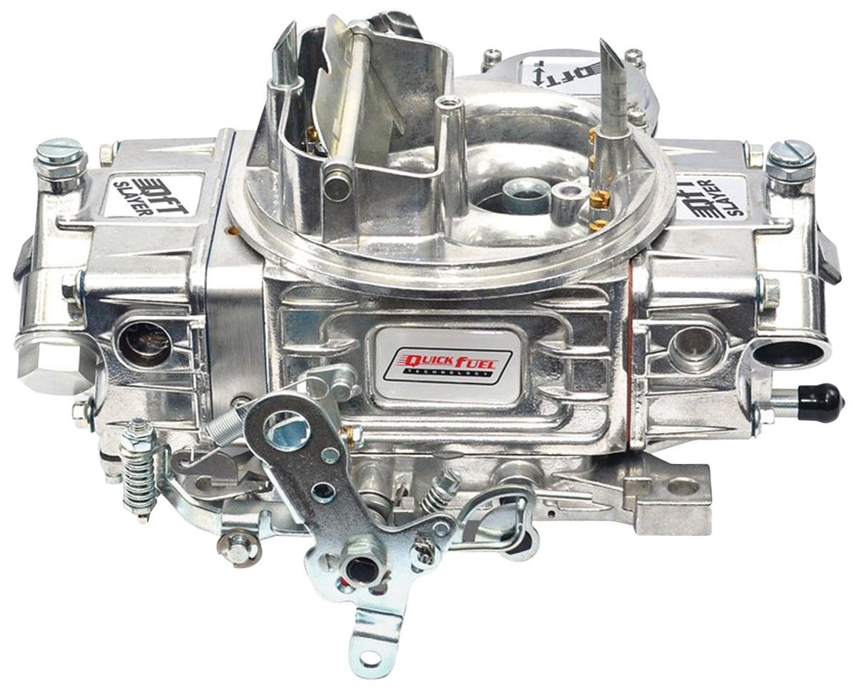 Carburetor, Quick Fuel Technology, Slayer Series, 600 CFM, Polished