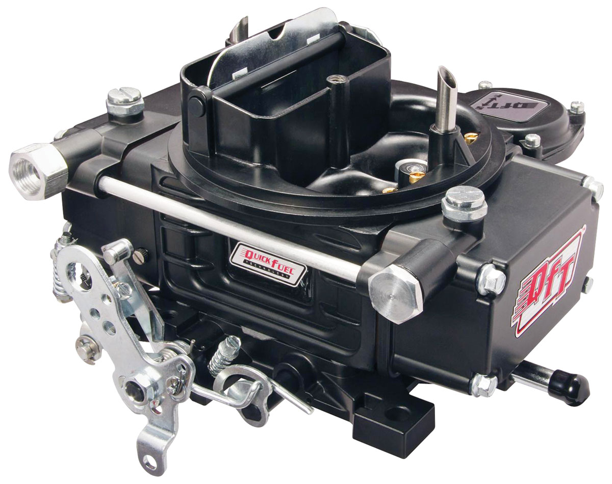 Carburetor, Quick Fuel Technology, Slayer Series, 600 CFM, Black Diamond Finish